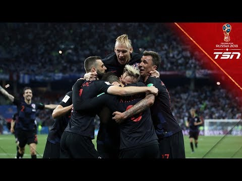 Croatia DOMINATES Argentina to advance to the Round of 16