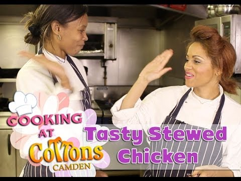 Tasty Caribbean Stewed Chicken: Cooking At Cottons Camden: