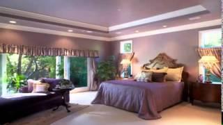 غرف نوم ذهبي وبنفسجي Gold And Purple Bedroom