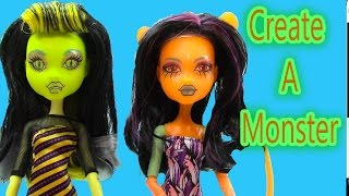 Create A Monster High GLOW IN THE DARK Nocturnal Doll Add On Starter Pack CAM Playset Set