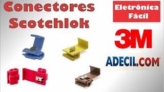 Emenda de Cabos Elétricos - Conector Scotchlok IDC 3M - Derivação