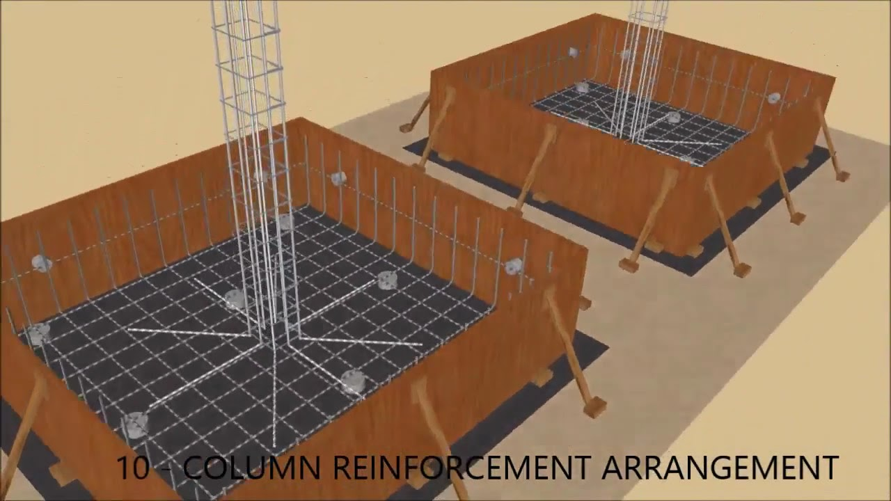 Precast concrete boundary wall construction test animate for Precast concrete basement walls cost