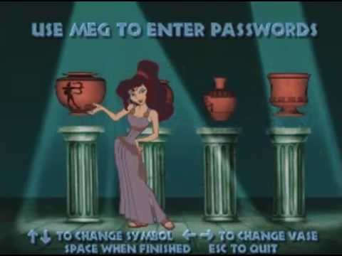 Hercules Action Game   All Level Password