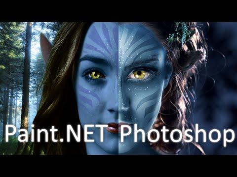 paint net vs photoshop avatar na 39 vi youtube