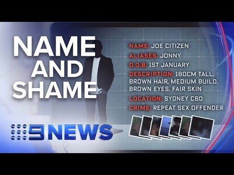 Child Sex Offender List To Be Made Public | Nine News Australia