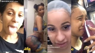 cardi b's funny videos cured my depression | pt.1