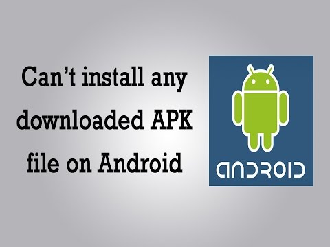 Can't install any downloaded APKfile on Android – Howto solve the problem if you can't click the