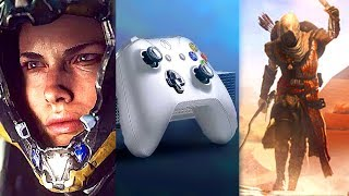 E3 2017 : Best XBOX ONE X Trailers (Microsoft Conference Highlights Compilation)