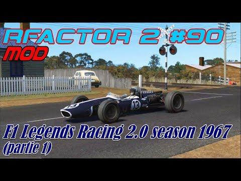RFactor 2 #90# Mod F1 Racing Legends 2.0 Season 1967 (partie 1)