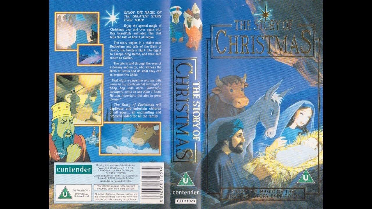 The Story Of Christmas.The Story Of Christmas 1996 Uk Vhs