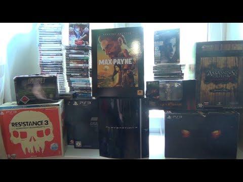 Мои игры для Playstation 3. Более 150 игр за все время
