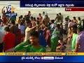 Heavy Traffic at RK Beach Route at Vizag