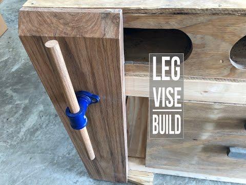 Workbench Leg Vise - How To DIY