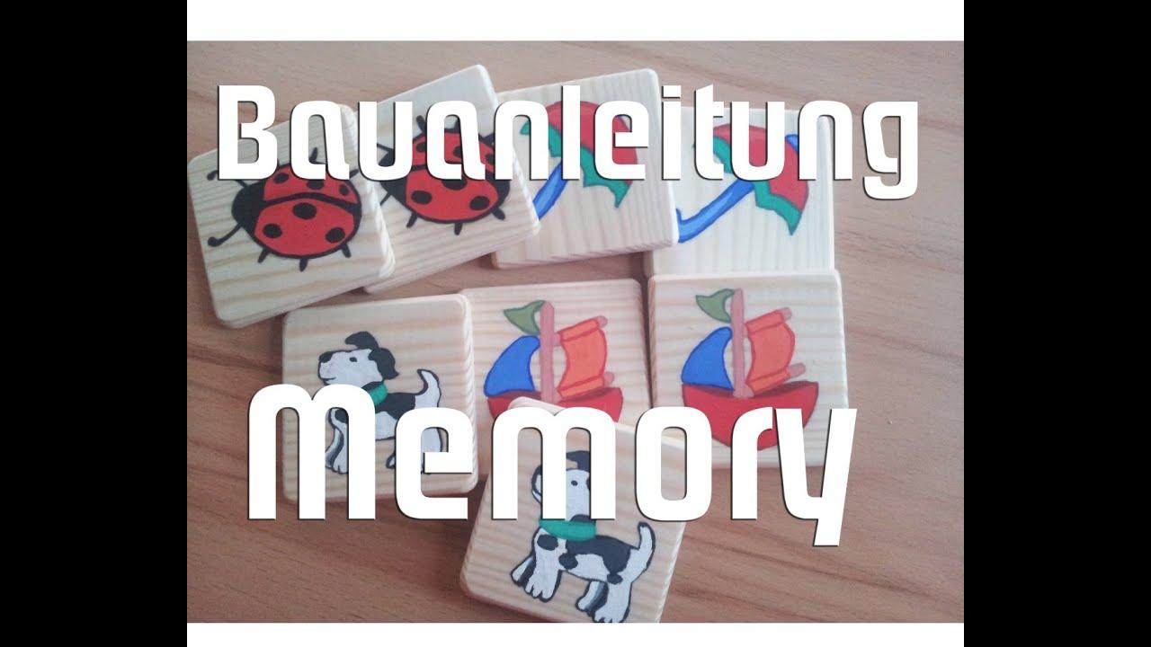 Holzspielzeug selber bauen memory f r kinder bauanleitung youtube - Memory selber machen ...