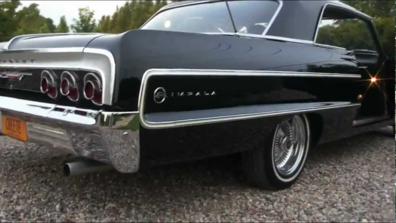 SOLD~~1964 Chevrolet Impala For Sale~327~4 Speed~Daytons~2 Owners ...