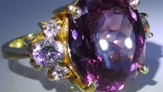 Natural Alexandrite with Gold ring 916 22K SOLD OUT