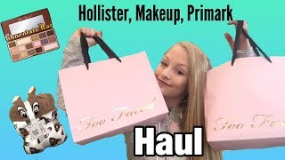 SHOPPING HAUL / TWO FACED & PRIMARK  PLUS FREE STUFF