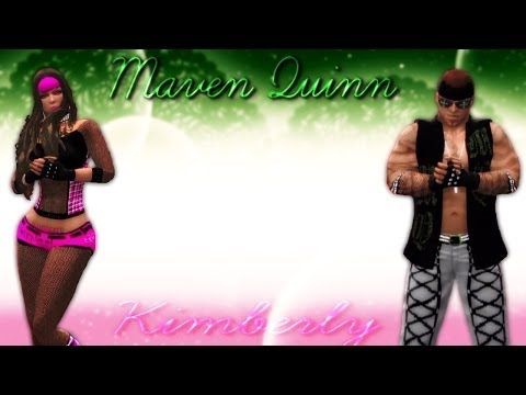 WWE'2K14:CAWS::KIMBERLY & MAVEN QUINN!ᴴᴰ