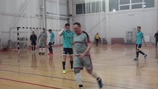 Позитрон Луч 1 тайм Чемпионат мини футбол 2020 21