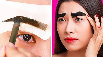 19 FUNNY BEAUTY FAILS AND WINS || GIRLY MAKEUP HACKS