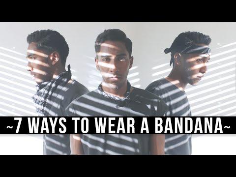 7 Ways To Wear A Bandana | What To Wear To Coachella (Festival Style) | Keani White