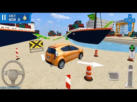 HATCHPACK ARABA OYUNLARI // City Driver: Roof Parking Challenge #6 - Best Android Gameplay