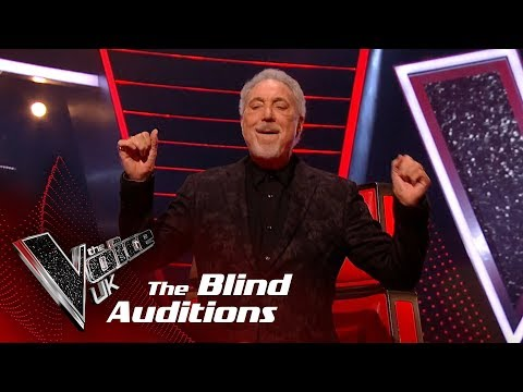 Tom Jones Performs 'It's Not Unusual': Blind Auditions   The Voice UK 2018