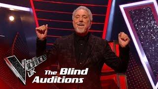 Tom Jones Performs 'it's Not Unusual': Blind Auditions