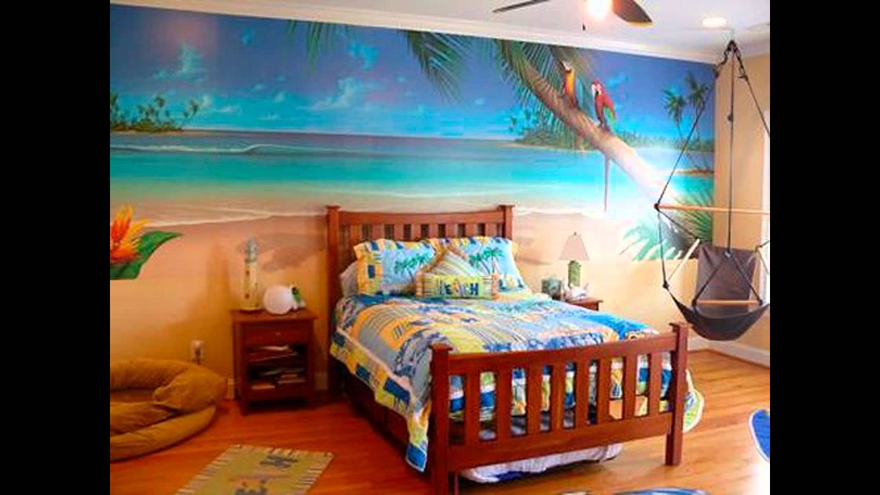 Beautiful Tropical bedroom decorating ideas - YouTube