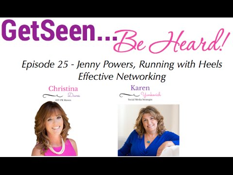 Networking with a purpose with Jenny Powers