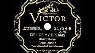 1928 HITS ARCHIVE: Girl Of My Dreams - Gene Austin