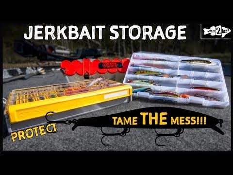 3 Jerkbait Tackle Box Options