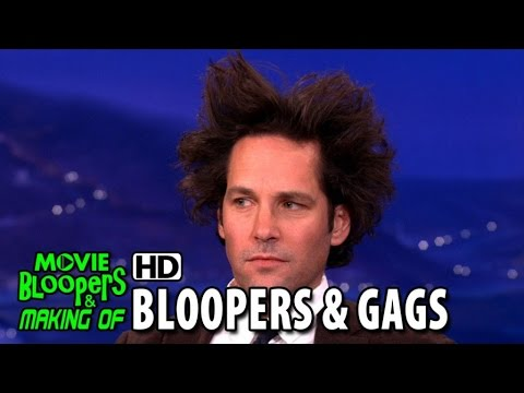 Paul Rudd The best of Bloopers  Gag Reel & Outtakes