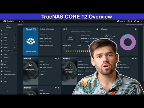 TrueNAS CORE 12 Overview (Formerly FreeNAS)