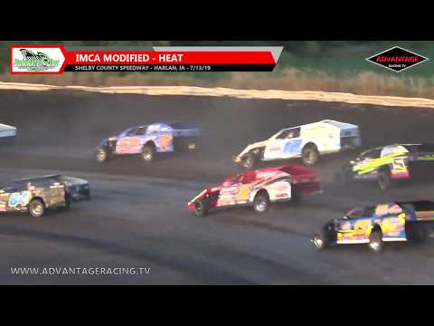 We make another trip down to Harlan, IA for some dirt track racing at the Shelby County Speedway. IMCA Sport Compacts and Modifieds kick things off with ... - dirt track racing video image