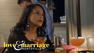 Melody Asks Kimmi About Her Absence During Martell's Cheating | Love and Marriage: Huntsville | OWN