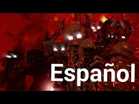 'We are the danger'  a minecraft músic video in español y ingles