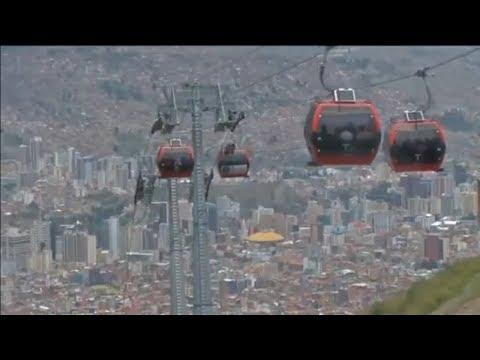 El teleférico de La Paz, Bolivia, ha entrado en el 'libro Guinness de los récords 2018'