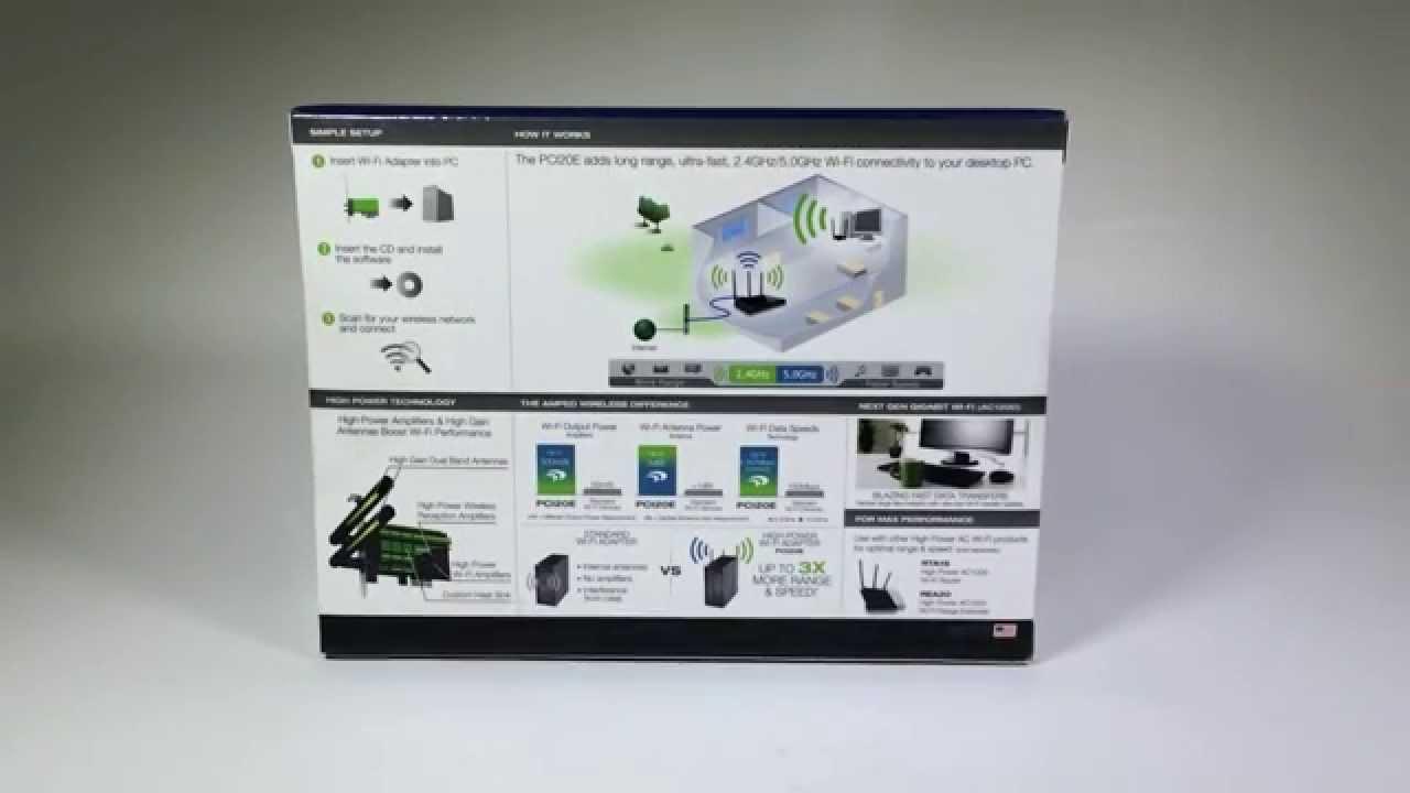 AMPED WIRELESS HIGH POWER WI-FI PCI-E ADAPTER 64 BIT DRIVER