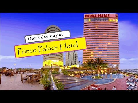 Our Stay At Prince Palace Hotel Bangkok   Hotel Review  Thailand Travel Vlogs Ep 04