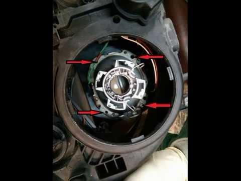 как заменить ближний свет на мерседес w211