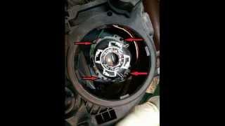 Mercedes Benz s211 w211 чистка фар полировка шлифовка восстановление(как самому в домашних условиях восстановить фары на Mercedes Benz s211 w211., 2014-01-29T10:37:23.000Z)