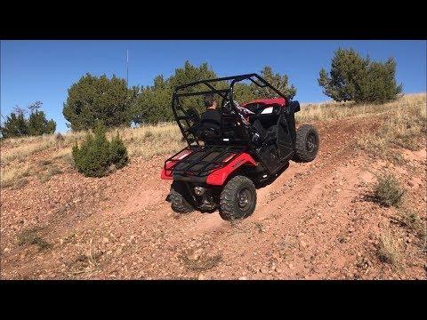 4WD vs 2WD TEST - 2018 Honda Pioneer 500 (Vid #5)