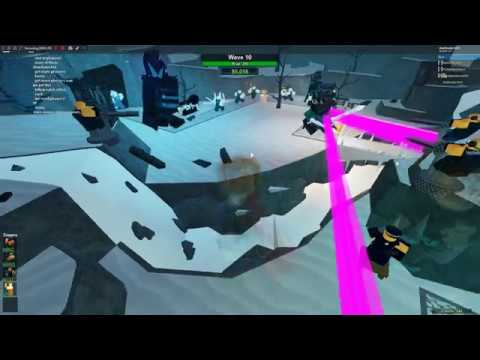 Roblox Tower Battles Frosty I Defeated Frosty L Roblox Tower Battles Winter Event Youtube