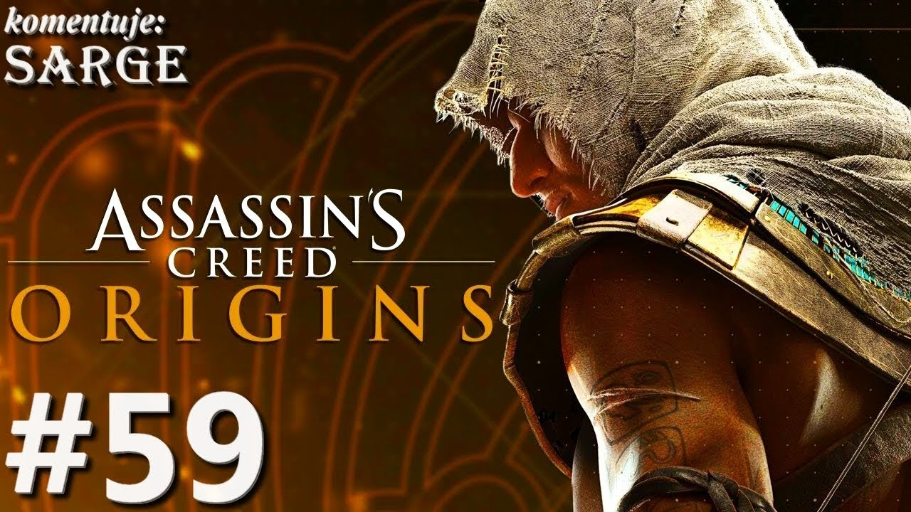 Zagrajmy w Assassin's Creed Origins [PS4 Pro] odc. 59 – Niespodziewana napaść