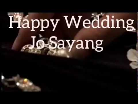 Happy Wedding Jo Sayang