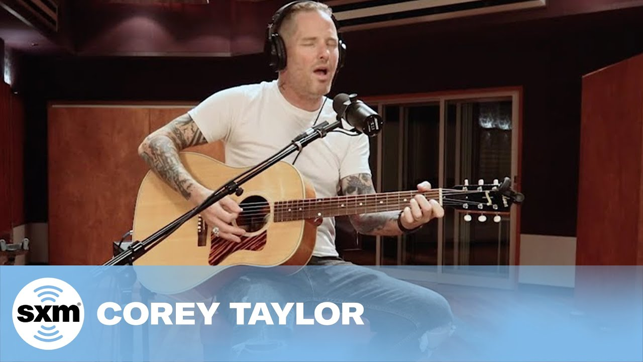 Corey Taylor - Black Eyes Blue (Acoustic) [Live for @SiriusXM] | Octane Home Invasion Festival