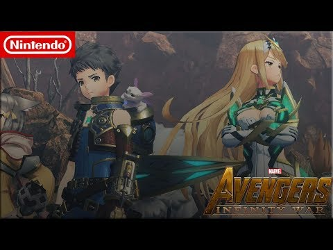 Monolith Soft's Xenoblade Chronicles 2: Infinity Blade- Trailer 2 (XC2 Infinity War Trailer 2 Style)
