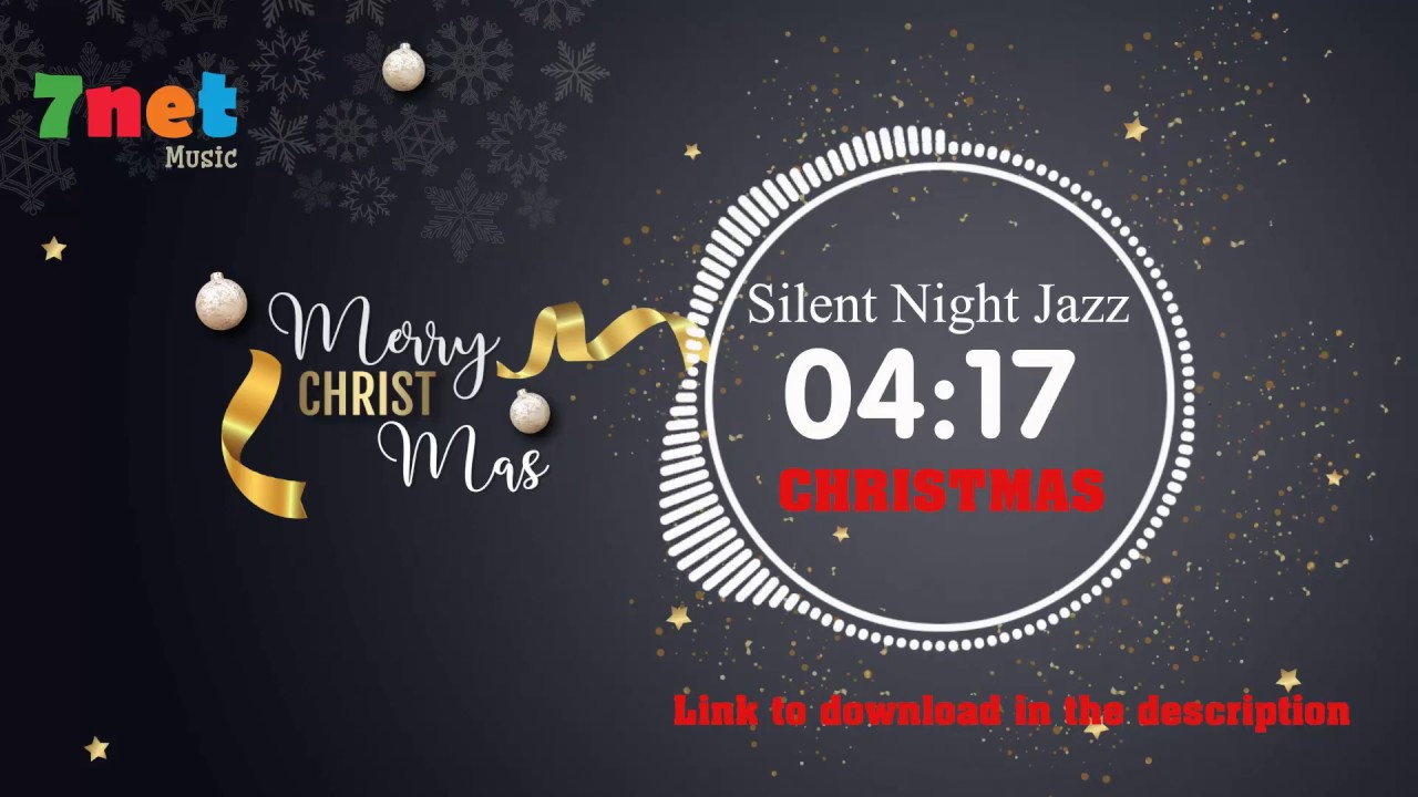 Silent Night Jazz song lyrics - download Christmas music free - YouTube