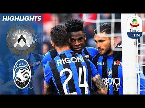 Udinese 1-3 Atalanta | Zapata Hat-Trick Secures Victory For Atalanta | Serie A